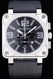 Fake Cool Bell & Ross BR 01-92 Carbon AAA Watches [X7W1]