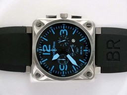 Fake Cool Bell & Ross BR 01-94 Working Chronograph AR Coating AAA Watches [N7T6]