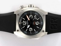 Fake Cool Bell & Ross BR02 Instrument Diver Automatic with Black Dial AAA Watches [R6F7]