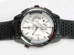 7f7f15fef45 Fake Modern Tag Heuer Aquaracer 300 Meters Working Chronograph Same Chassis  As Movement AAA Watches