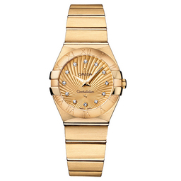Quartz 123.50.27.60.58.001 Replica Omega klockor Constellation Ladies Watch