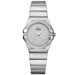 123.55.27.60.99.001 Replica Omega Watches Constellation Ladies Quartz watch