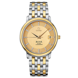 Omega Watches Replica De Ville 4374.15.00 Mens automatic mechanical watches