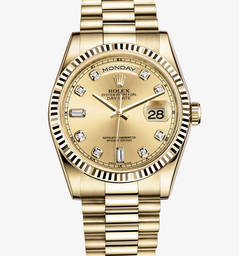 Rolex Day-Date Montre : or jaune 18 ct - M118238-0116