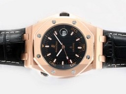 Fake Cool Audemars Piguet Royal Oak Offshore Automatic Rose Gold Case AAA Watches [T2H2]