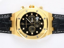 Fake Cool Audemars Piguet Royal Oak Kronograf Gull Casing AAA Klokker [ V6W7 ]