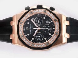 Fake- Fancy Audemars Piguet Royal Oak Chronograph Asia Valjoux 7750 Uhrwerk AAA Uhren [ M3B5 ]