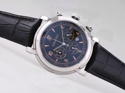 Fake Gorgeous Audemars Piguet Jules Audemars Working Chronograph with Black Dial AAA Watches [E7R8]