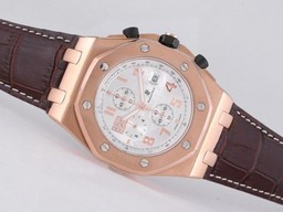 Fake Gorgeous Audemars Piguet Royal Oak Offshore Working Chronograph Rose Gold AAA Watches [B7C8]