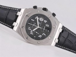 Fake Gorgeous Audemars Piguet Royal Oak Offshore Working Chronograph med Black Dial AAA Klokker [ A6F9 ]