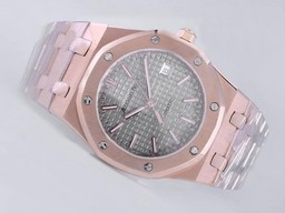 Fake Great Audemars Piguet Royal Oak Jumbo Full Rose AAA Watches [K6R8]