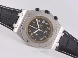 Fake Modern Audemars Piguet Royal Oak Offshore Working Chronograph with Black Dial AAA Watches [B3U5]