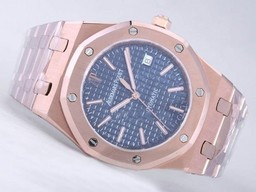 Fake Perfekt Audemars Piguet Royal Oak Jumbo Full Rose AAA klockor [ E4K7 ]