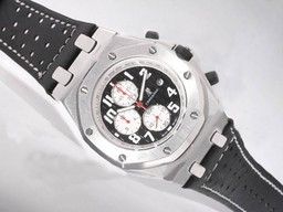 Fake Popular Audemars Piguet Royal Oak Offshore Working Chronograph with Black Dial AAA Watches [I3E3]