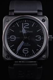 Fake Cool Bell & Ross BR 01-92 Carbon AAA Watches [C4W2]