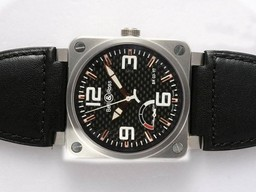 Fake Cool Bell & Ross BR 03-97 Power Reserve Working 42x42mm AAA Watches [M5U5]