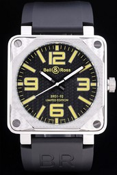 Fake Bell & amp moderna ; amp ; Ross BR 01-92 Airborne AAA relojes [ X4R3 ]