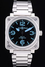 Fake Bell & amp moderna ; amp ; Ross BR 01-92 Airborne AAA relojes [ D5M7 ]