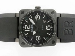 Fake Bell & amp moderna ; amp ; Movimiento Ross PVD Carcasa con Gris Marca- 42x42mm AAA relojes [ C9X9 ]