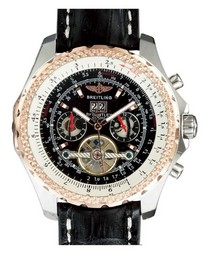 Fake Fancy Breitling Bentley Mulliner Tourbillon BR - 1334 AAA klockor [ B7D9 ]
