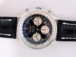 Fake Gorgeous Breitling Navitimer Chronograph Movement AR Coating AAA Watches [C9D5]