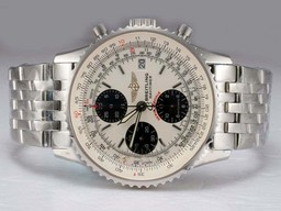 Fake Gorgeous Breitling Navitimer Chronograph Movement AAA Watches [V1H4]
