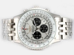 Fake Modern Breitling Bentley Flying B Chronograph Automatic -Blue Dial AAA Watches [W6S4]