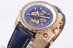 Fake Modern Breitling for Bentley Motors Automatic Tourbillon Skeleton AAA Watches [P3D9]