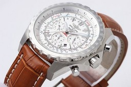 Breitling for Bentley faux moderne Motors chronographe automatique avec cadran blanc AAA Montres [ S7I7 ]
