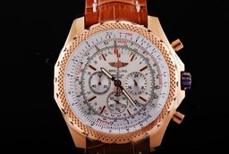 Breitling for Bentley moderne faux Motors T Travail Chronographe Quartz Rose d'or AAA Montres [ A2C3 ]