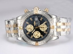 Breitling Chronomat Perfect Fake Evolution chronogrpah Mouvement AAA Montres [ T1C7 ]
