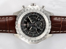 Fake Quintessential Breitling for Bentley Motors T Working Chronograph with Black Dial AAA Watches [B4S6]
