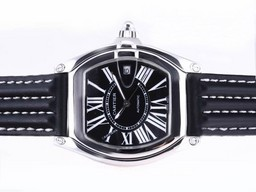 Fake Cool Cartier Roadster Automatic with Black Dial AAA Watches [J8I4]