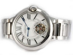 Fake Modern Cartier Ballon Bleu de Cartier Tourbillon Manual Winding AAA Watches [U7D4]