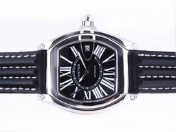 Fake Modern Cartier Roadster Automatic with Black Dial AAA Watches [A3T1]