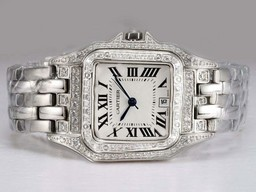 Fake Popular Cartier Santos Demoiselle Diamond Bezel AAA Watches [Q3V4]