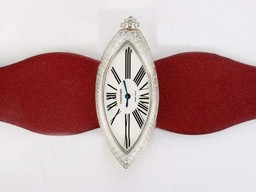 Fake Vintage Cartier Montre Calisson De Diamond Bezel AAA Watches [E4L3]