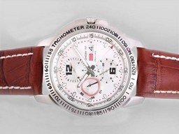 Fake Great Chopard Gran Turismo Chronograph Automatic with White Dial AAA Watches [U8N7]