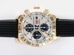 Fake Great Chopard Mille Miglia Chrono GMT Movement Gold AAA Watches [E9E5]