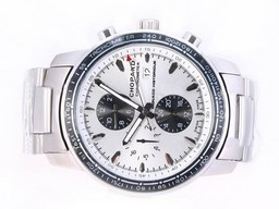 Fake Quintessential Chopard Mile Miglia Chrono Automatic Grand Prix Edition with White Dial AAA Watches [T7H3]