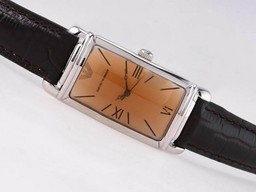 Fake Modern Emporio Armani med Champagne Dial AAA klockor [ E7T6 ]