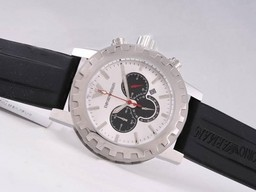 Fake Perfect Emporio Armani Working Chronograph White Dial AAA k