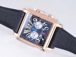 Fake Cool Franck Muller Conquistador King Chronograph Automatic Rose Gold AAA Watches [E5C3]