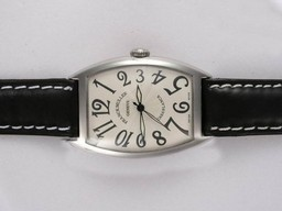 Fake Fancy Franck Muller Casablanca 2892 Movement with White Dial AAA Watches [E2T2]