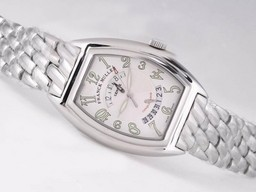 Fake Fancy Franck Muller Conquistador Automatic with White Dial AAA Watches [N2U8]