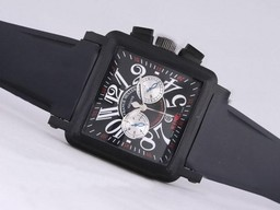 Fake Fancy Franck Muller Conquistador King Chronograph Automatic PVD Case AAA Watches [T7C4]
