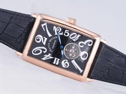 Fake Fancy Franck Muller Long Island Tourbillon Automatic Rose Gold Case AAA Watches [O1O3]