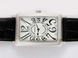 Fake Great Franck Muller Crazy Hours Color Dreams Automatic Diamond Bezel AAA Watches [N7X3]