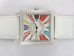 Fake Great Franck Muller Master Square Diamond Bezel AAA Watches [I8D2]