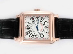 Fake Modern Franck Muller Conquistador Automatic Rose Gold Tapau